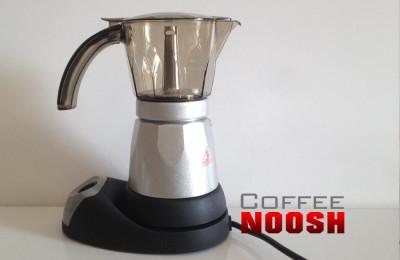 قهوه جوش برقی با ظرف شفاف
