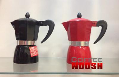قهوه جوش روگازی فلزی کوچک