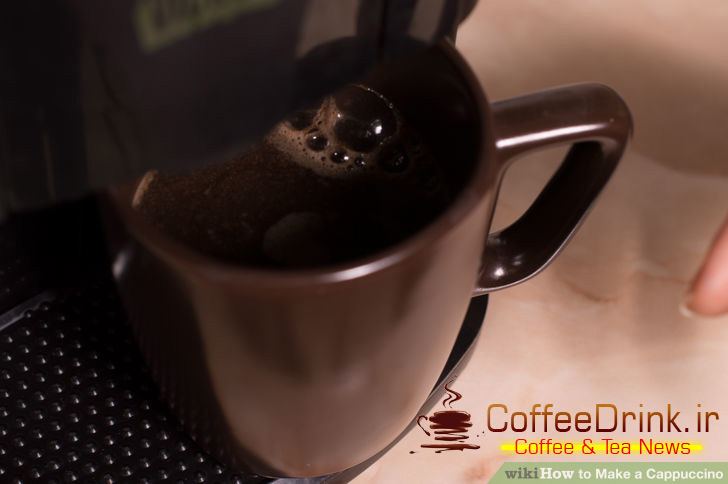 کاپوچینو-تهیه-قهوه